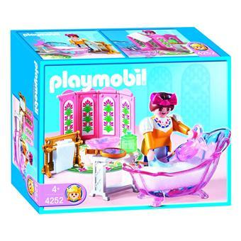 Playmobil 4252 salle de bains royale achat prix fnac for Salle bain playmobil