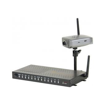 kit videosurveillance sans fil quadravision camera. Black Bedroom Furniture Sets. Home Design Ideas