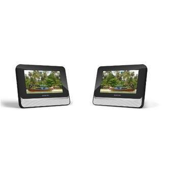 lecteur dvd portable biostek bdd 720 double cran 7 achat prix fnac. Black Bedroom Furniture Sets. Home Design Ideas