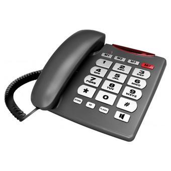 telephone analogique grandes touches et t moin lumineux achat prix fnac. Black Bedroom Furniture Sets. Home Design Ideas
