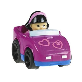 fisher price v hicule wheelies little people voiture de sport violette acheter sur. Black Bedroom Furniture Sets. Home Design Ideas