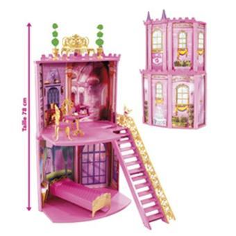 Mattel accessoires barbie barbie chateau secrets et for Accessoire maison barbie
