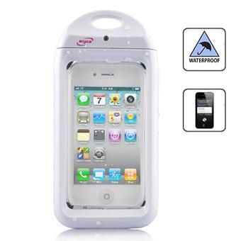Housse tanche pour iphone 4 4s blanche achat prix fnac for Housse etanche iphone