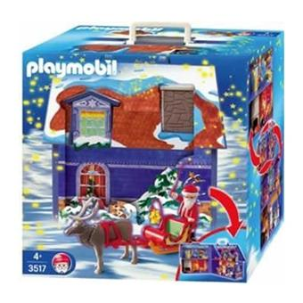 playmobil 3517 la maison du p re no l achat prix. Black Bedroom Furniture Sets. Home Design Ideas