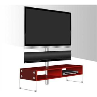 yamaha meuble tv kinsei finition rouge kinsei achat prix fnac. Black Bedroom Furniture Sets. Home Design Ideas