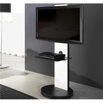 gisan meuble support pour tv 1 plateau mdf fs120bl. Black Bedroom Furniture Sets. Home Design Ideas