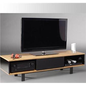 norstone meuble tv finition bambou 2 plateaux cinema achat prix fnac. Black Bedroom Furniture Sets. Home Design Ideas