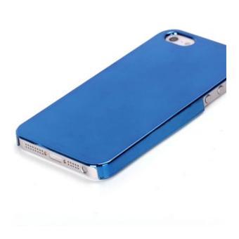 Coque plastique effet miroir bleu pour iphone 5 achat for Effet miroir photo iphone