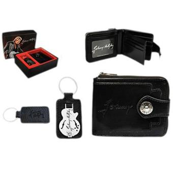coffret portefeuille et porte cl s johnny hallyday guitare top prix fnac. Black Bedroom Furniture Sets. Home Design Ideas