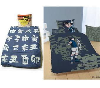 drap housse naruto sasuke top prix fnac. Black Bedroom Furniture Sets. Home Design Ideas