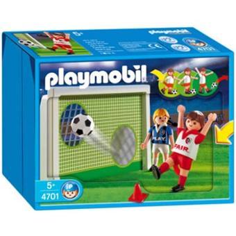 playmobil 4701 joueurs de foot but dentrainement achat prix fnac