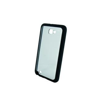 coque hybride transparente noire pour samsung galaxy note. Black Bedroom Furniture Sets. Home Design Ideas