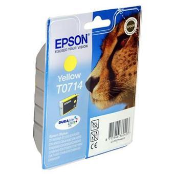 epson 1 cartouche d 39 encre jaune pour imprimante epson. Black Bedroom Furniture Sets. Home Design Ideas