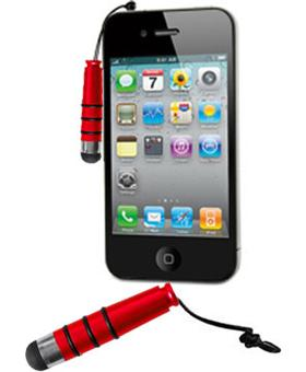 stylet universel rouge pour cran capacitif iphone achat prix fnac. Black Bedroom Furniture Sets. Home Design Ideas