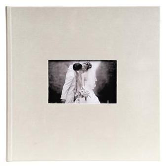 Album photo mariage traditionnel coller 25x25 opale - Album photo a coller ...