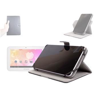 etui rotatif 360 en aspect cuir noir pour tablette polaroid rainbow 7 pouces achat au. Black Bedroom Furniture Sets. Home Design Ideas