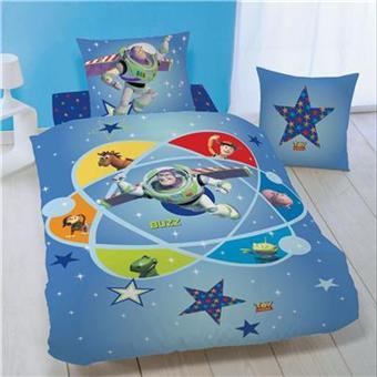 parure de lit toy story buzz satellite avec taie top prix fnac. Black Bedroom Furniture Sets. Home Design Ideas