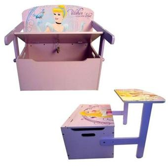 Disney princess Coffre 3en1 Princesses Coffre + Bureau + Banc