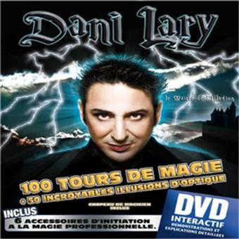 Coffret De Magie Dani Lary  100 Tours + Dvd  Achat / Vente jeu magie