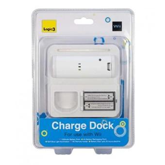station de charge batterie et piles manette wiimote pour. Black Bedroom Furniture Sets. Home Design Ideas