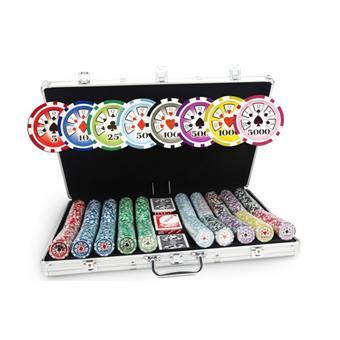 Malette poker vide 1000 jetons