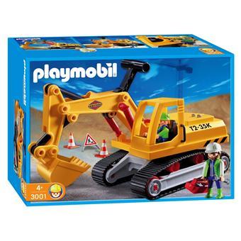 Playmobil 3001 le chantier camion pelleteuse et - Playmobil camion chantier ...