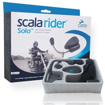 cardo scala rider solo kit mains libres moto bluetooth pour 1 casque jet modulable achat. Black Bedroom Furniture Sets. Home Design Ideas