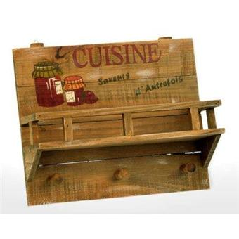 Revimport etag re pices et accroche torchons bois cuisine achat prix fnac for Accroche torchons cuisine