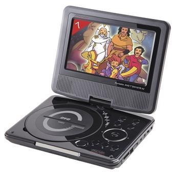 Lecteur DVD portable TAKARA DIV107R NOIR 7\