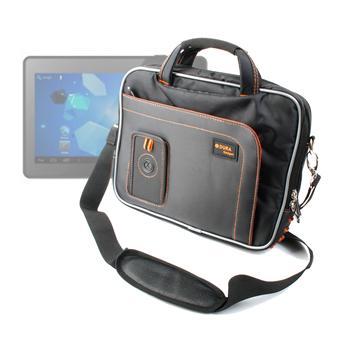 Sacoche luxe avec poches bandouli re pour tablette mpman - Sacoche tablette 10 pouces ...