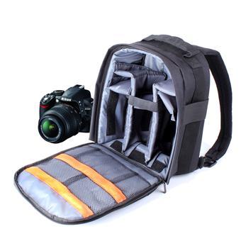 Sac à dos appareil photo résistant à l'eau DURAGADGET pour reflex