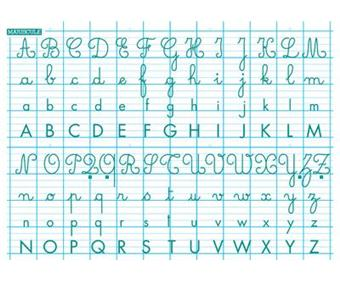 Majuscule rouleau tableau blanc abecedai 70x100 achat prix fnac - K en majuscule ...