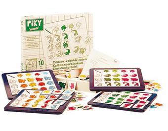 Piky jeu de logique piky tableau a double entree 144 for Tableau logique