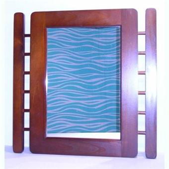 rossignol miroir de toillette carr cadre samuru 60x60 acheter au meilleur prix. Black Bedroom Furniture Sets. Home Design Ideas