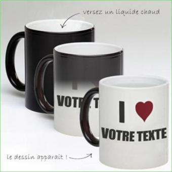tasse mug magique personnalise i love votre texte achat prix fnac. Black Bedroom Furniture Sets. Home Design Ideas