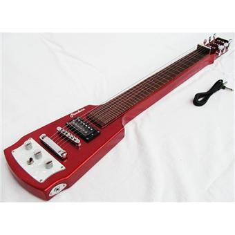 guitare electrique lapsteel slide rouge neuve garantie. Black Bedroom Furniture Sets. Home Design Ideas