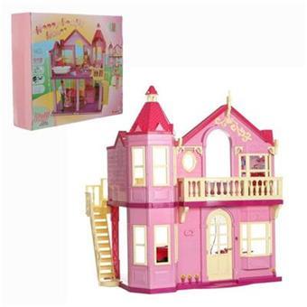 steffi love maison de barbie grande maison pliable. Black Bedroom Furniture Sets. Home Design Ideas