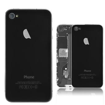vitre arri re iphone 4 noir achat prix fnac. Black Bedroom Furniture Sets. Home Design Ideas