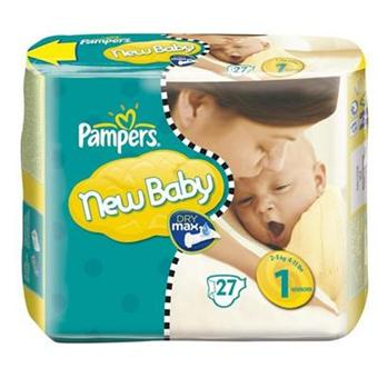Pampers couches new baby taille 1 newborn 2 5 kg - Combien coute un paquet de couche pampers ...