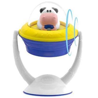 accueil enfants jouets chicco jouet ventouse electronique space cow