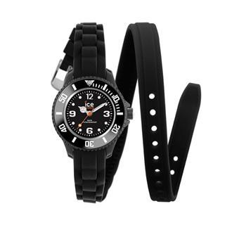 montre ice watch twist noir bracelet double tour silicone achat prix fnac. Black Bedroom Furniture Sets. Home Design Ideas