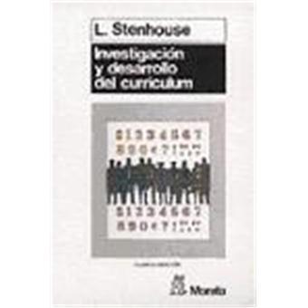 investigacion desarrollo curriculum: