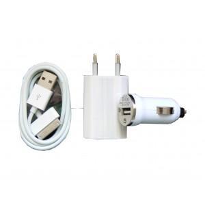 Pack chargeur 3 en 1 pour iphone et ipod achat prix fnac - Chargeur iphone 6 fnac ...