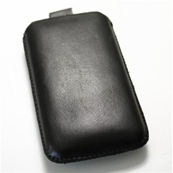 Housse etui cuir blackberry 9300 curve 3g noire achat for Housse blackberry curve 9300