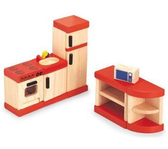 djeco cuisine pour la maison de poupees en bois achat prix fnac. Black Bedroom Furniture Sets. Home Design Ideas
