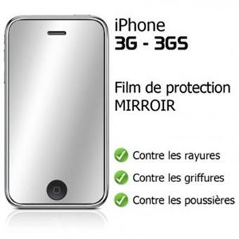 Film cran iphone 3 3gs effet miroir achat prix fnac for Effet miroir photo mac