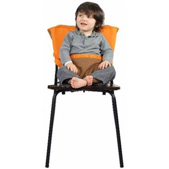 Baby to love chaise nomade reversible chocolat orange for Baby to love chaise nomade