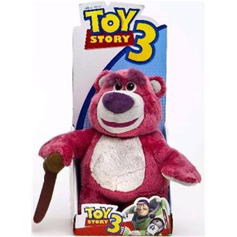 peluche toy story ours lotso 25 cm achat prix fnac. Black Bedroom Furniture Sets. Home Design Ideas