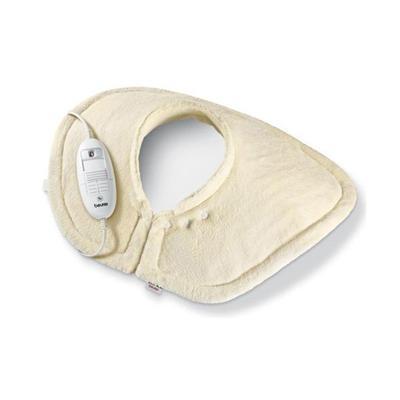 Coussin chauffant epaule et nuque HK54 / BEURER. Le coussin chauffant HK54 est specialement concu pour soulager ou detendre les epaules et la nuque, regions du corps generalement fatiguees, tendues ou douloureuses en cas de stress, de fievre ou de courbat