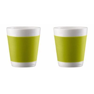 Image du produit Canteen - Set 2 Verres Double Paroi 10 cl Porcelaine (vert citron)